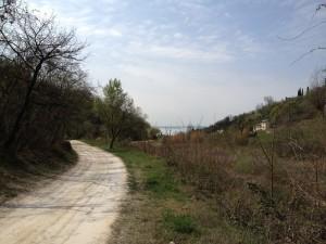 Valle dei Mulini - Si intravede il lago