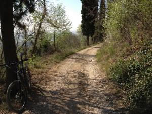 Ascesa dopo il paese di Gargagnago