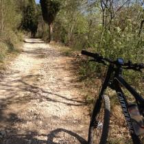 Ascesa dopo il paese di Gargagnago - Seconda parte