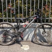 Arrivo - My bike con fango