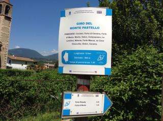 Valpolicella Valdadige_Monte discesa dal Forte - Arrivo in Val d'Adige