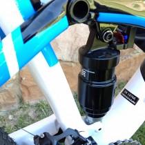 Cannondale Trigger 2 2013 - Dettaglio Sospensione ad escursione fissa a 120mm