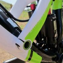 Cannondale Trigger 1 2013 - Dettaglio Perni Carro Posteriore