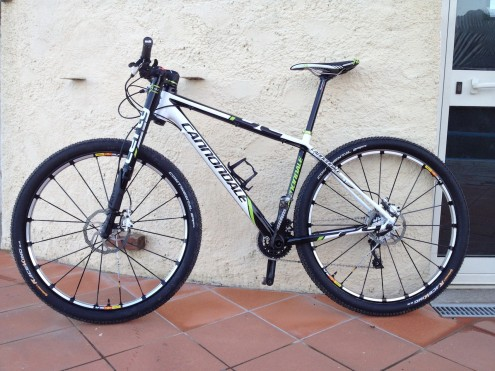 Cannondale F29 Carbon3 2013 modificata da Andrea